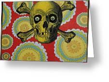 Skull And Cross2 Greeting Card