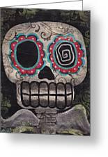 Skull Angel Greeting Card