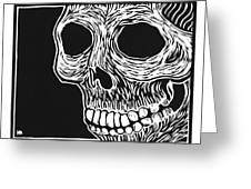 Skull Aware Greeting Card