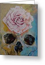 Rose Greeting Card by Michael Creese