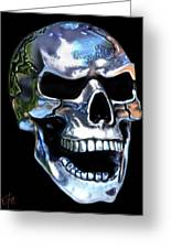 Skull Shine Greeting Card