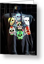 Skull T Shirts Day Of The Dead  Greeting Card