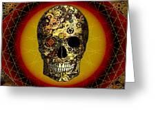 Skullgear Greeting Card