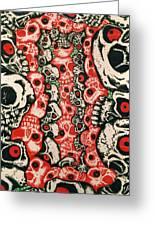 Skulls Infinate Greeting Card