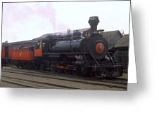 Skunk Train No 45 Fort Bragg California Greeting Card