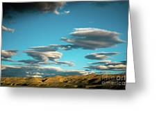 Sky And Clouds Garuda Valley Tibet Yantra.lv Greeting Card