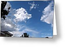 Sky Before The Storm Greeting Card