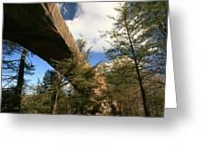Sky Bridge Greeting Card