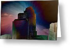 Sky Disruptors Greeting Card