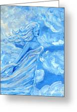 Sky Goddess Greeting Card