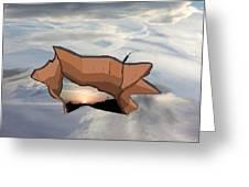 Sky Hole Sky Greeting Card