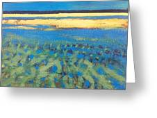 Sky In The Ripples Greeting Card
