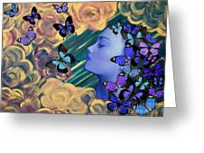 Sky Maiden Greeting Card