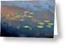 Sky Meets Water Greeting Card