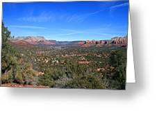 Sky Mountain View Greeting Card