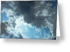 Sky Of Hope Greeting Card