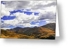 Sky On The Divide Greeting Card