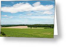 Sky Over Field Greeting Card