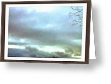 Sky Painting Greeting Card