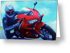 Sky Pilot - Honda Cbr600 Greeting Card