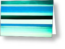 Sky Stripes 14 Greeting Card