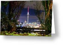 Sky Tower Greeting Card