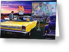 Sky View Drive-in Greeting Card