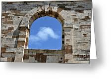 Sky Window Greeting Card