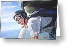 Skydiver  Greeting Card