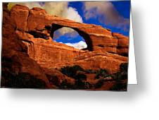 Skyline Arch Greeting Card