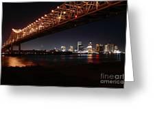 Skyline Bridge Greeting Card