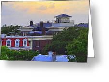 Skyline Charleston Sc Greeting Card