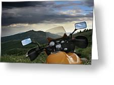 Skyline Drive Above Davis County Greeting Card