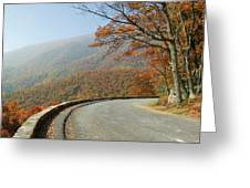 Skyline Drive I Greeting Card