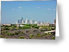 Skyline Houston Greeting Card
