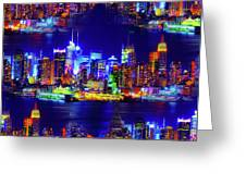 Skyline Island Greeting Card