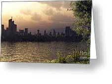 Skyline Lake Greeting Card
