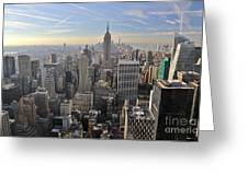 Skyline New York City  Greeting Card