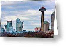 Skyline Niagara Greeting Card
