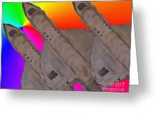 Skyriders Greeting Card