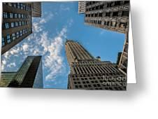 Skytops Manhattan Greeting Card