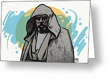 Skywalker Returns Greeting Card