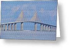 Skyway Bridge Greeting Card