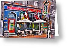 Slainte Irish Pub And Restaurant Greeting Card