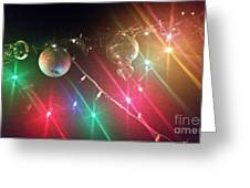Slap Happy Christmas Lites Greeting Card