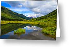 Slate River At Crested Butte Colorado Greeting Card