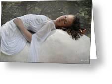 Sleep Of Innocents Greeting Card