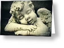 Sleeping Angel Greeting Card