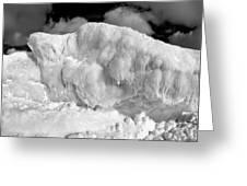 Sleeping Ice Giant Greeting Card