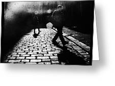 Sleepwalking Greeting Card by Andrew Paranavitana